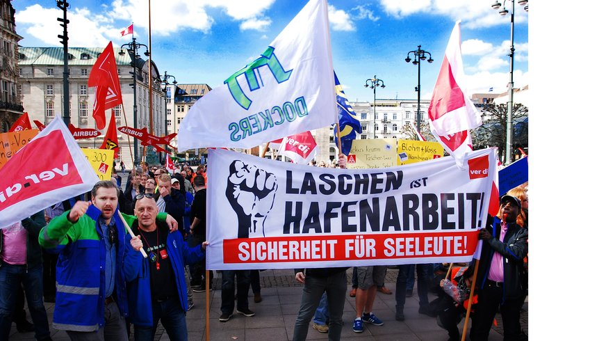 Demo in Hamburg