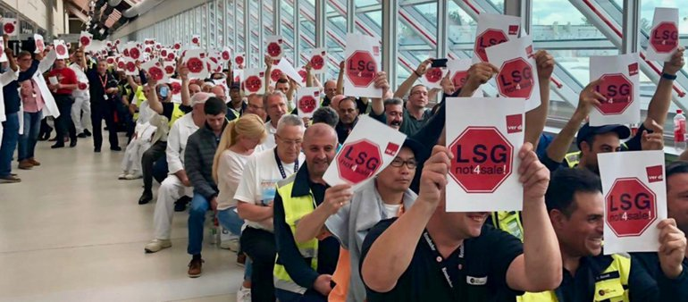 LSG Protest